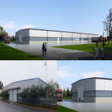 Vorfabriziertes Stahlkonstruktion-Gebäude für Selbstspeicher-Teildienst