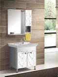 Armário da vaidade do banheiro do aço inoxidável (T-9584)