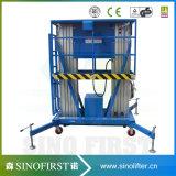 6m-12m Aluminiumlegierung-Funktions-Mann-Aufzug-Höhenruder