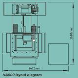 Alambre servo EDM (HA500) del CNC del molibdeno de la alta precisión