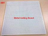 Panneau de plafond de trou en métal