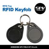 Hf FM1108 ISO14443A del FOB del clave del dígito binario de la PC 8k de RFID