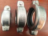 3 بوصة الفولاذ المقاوم للصدأ مطاط مرن نصف اقتران موصل المشبك الانابيب