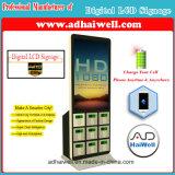 """42 """" que anunciam do cabo eletrônico de Mfi dos cacifos do Signage do LCD Digital a estação cobrando móvel"""