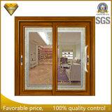 Изолированная двойная застекленная алюминиевая раздвижная дверь