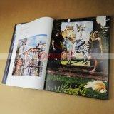 Книжное производство книга в твердой обложке книжного производства Photogrphic качества