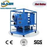 Máquina de la filtración del aceite de la turbina de la basura de la calefacción del vacío de Tvp