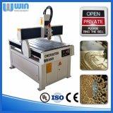 Ww6090 Kleine CNC die de Houten Machine van de Gravure met Roterende As snijden