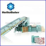 De horizontale Pers van het Papierafval van Hellobaler Hfa20-25