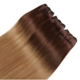 o Weave peruano do cabelo humano do Virgin de 7A Ombre 4 pacotes descorou a onda peruana de tecelagem do corpo do Virgin do 1b 33 27 Ombre do tom do cabelo 100g 3