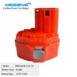 14.4V 3.0ah drahtlose Werkzeug-Batterie für Makita Ni-MH