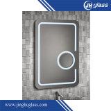 Sensor puesto a contraluz LED redondo del tacto del espejo que magnifica