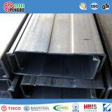 Размеры стального канала стального канала u углерода ASTM A53 слабые
