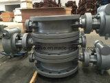 Valvola di Buterfly di sigillamento di Bi-Senso dell'acciaio di getto Dn400 2.5MPa