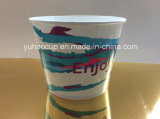 32oz Custom Printed Paper Popcorn Cups/Disposable Food Bucket