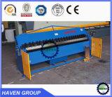 Doblador manual de la placa de acero, máquina plegable manual, máquina de la carpeta de la mano