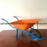 アフリカの市場の構築の一輪車