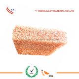 Cu poroso da espuma do metal (espuma aberta 0.8mm*250mm do cobre da pilha)