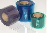 Pellicola molle di plastica del PVC della tinta blu