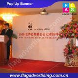 Bewegliche Werbung Tension Fabric Pop Up Event-Hintergrund Stand