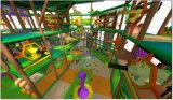 喝采の娯楽ジャングルのテーマの屋内運動場の遊園地