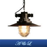 Weinlese-Retro Eisen-materielle industrielle Art-hängende Lampe für Esszimmer