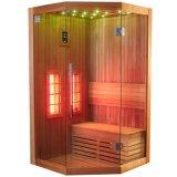Casa da sauna do infravermelho distante de Comfortablehealthy do projeto do diamante (I-011)