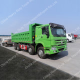 Sinotruk HOWO 8*4 371HPのユーロIIのダンプトラック(ZZ3317N3867W)