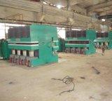 Máquina de vulcanización hidráulica de goma de la placa automática de la prensa del vulcanizador