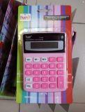 8 dígitos se doblan la calculadora de escritorio colorida de la potencia (LC208c)