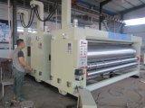 Máquina que ranura del cartón del rectángulo de la impresión acanalada de Flexo