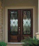 Твердая деревянная дверь с хорошим качеством и новой конструкцией