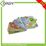 CR80 Smart Card stampabile stampato CMYK del PVC 13.56MHz RFID