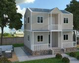 Vorfabriziertes Stahlrahmen-Wohnduplexhaus