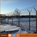 3D kurvte geschweißten Maschendraht-Garten-Zaun