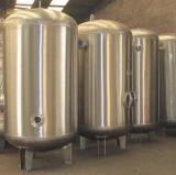 Los tanques de almacenaje vestidos del acero inoxidable