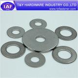 Rondelle ronde de plaine plate de l'acier inoxydable A2/A4 DIN 125 DIN 9021
