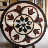 Stone di marmo Waterjet Medallion Tiles per Wall e Floor Decoration