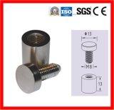 Afstand houden het Met platte kop van het Teken van het aluminium met ISO9000