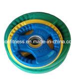 Placa redonda del peso del color de la máquina del Bodybuilding de la aptitud