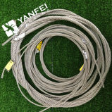 Clip de câble métallique DIN741, bride de câble métallique