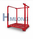 Almacenaje de acero plegable resistente del almacén que apila la plataforma