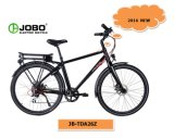 Bicicleta elétrica de dobramento personalizada OEM de E com a roda de alumínio da borda (JB-TDA26Z)