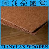 Couleur décorative de Brown foncé de panneau dur de 2.3mm 2.5mm