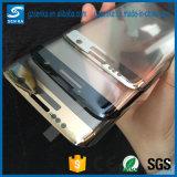 Silk Druck-ausgeglichenes Glas-Bildschirm-Schoner-Schutz der Volldeckung-3D für Rand Samsung-S7
