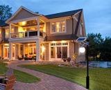 [إيب65] يصمّم درجة يضمن شمسيّ حديقة أضواء لأنّ منزل وشارع