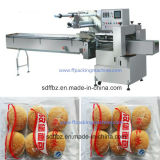 Empaquetadora de la fila del flujo Multi- automático completo del pan