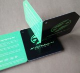 Nuevo boleto de papel de la etiqueta del oscilación del Hangtag de la ropa 2016
