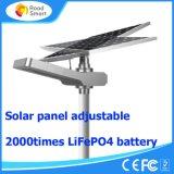 panneau solaire solaire tout du réverbère de pouvoir de 15W DEL 50W dans un réverbère solaire de DEL