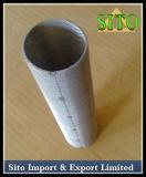 Filtro em caixa perfurado de engranzamento do aço inoxidável, cilindro do filtro